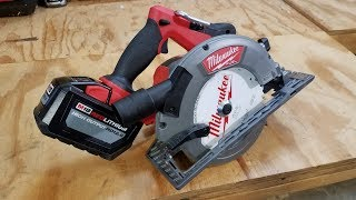 milwaukee m18 gen 2 fuel 7 14 circular saw review