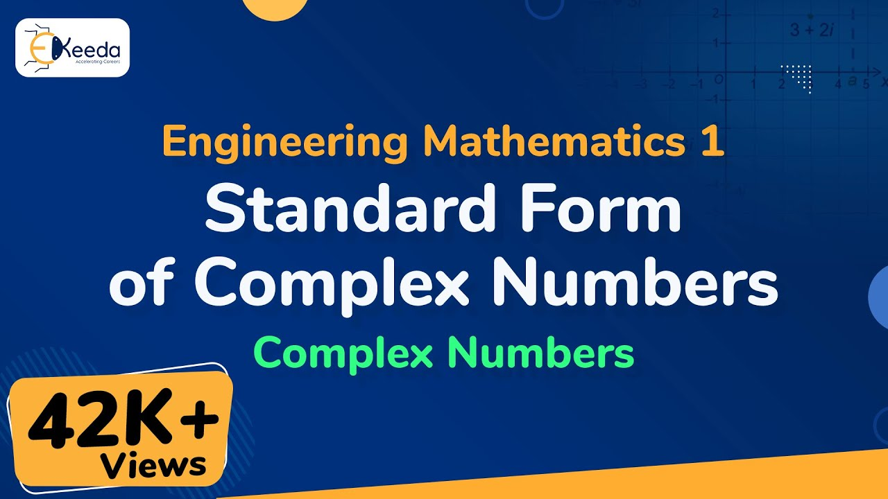 Standard form of complex numbers review of complex number standard form of complex numbers review of complex number engineering maths 1 first year engg falaconquin