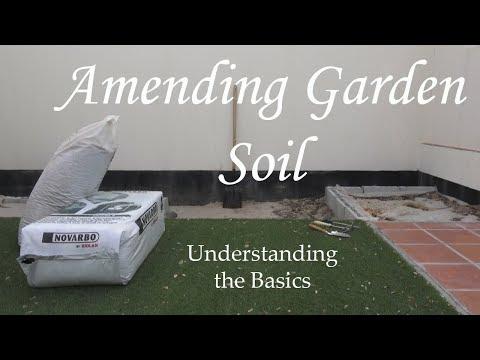 Amending Your Garden Soil تعديل التربة الصحراوية