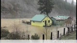 1997 New Years Flood in Plumas County 5 min