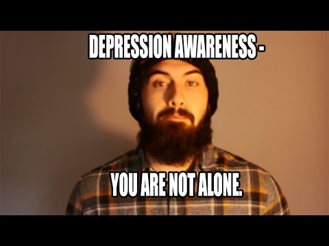 Depression Awareness - You Are Not Alone