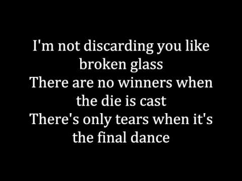 Sia- Broken Glass Lyrics on Screen