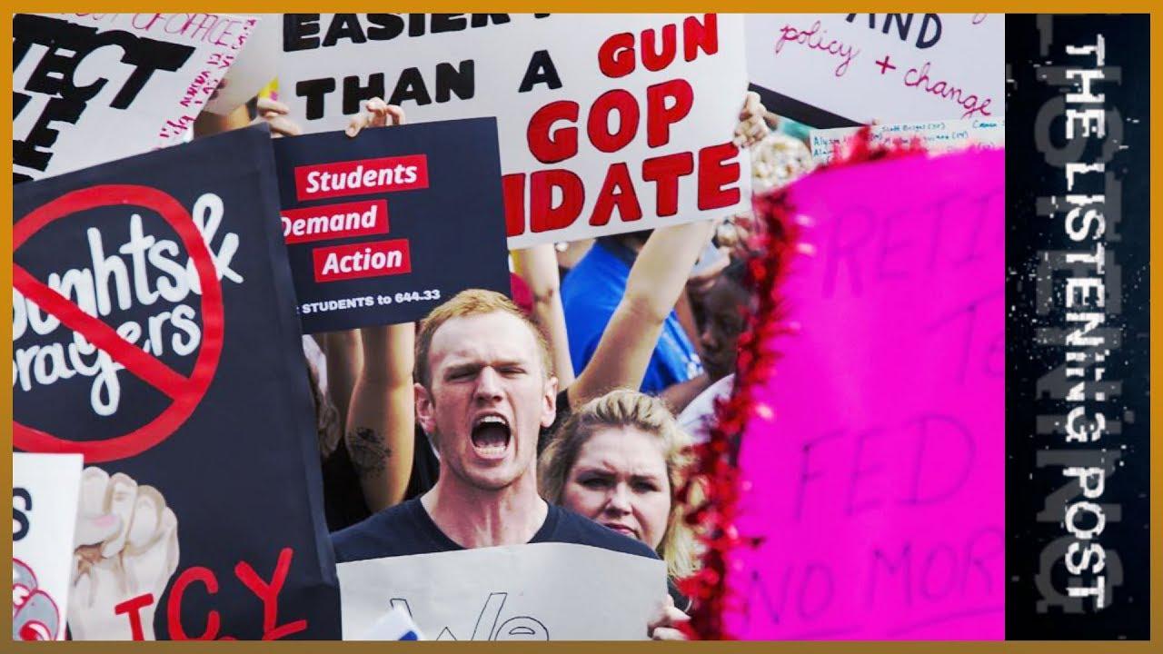 🇺🇸 #NeverAgain: Teenagers, Twitter and the US gun debate | The Listening Post (Full)