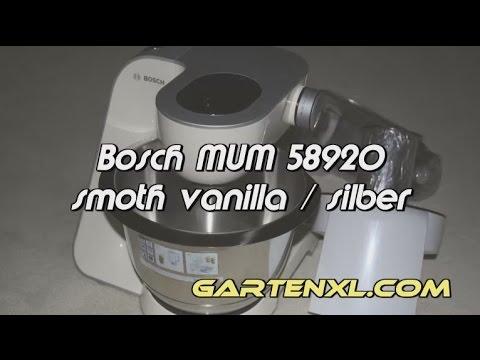 bosch mum5 küchenmaschine - youtube