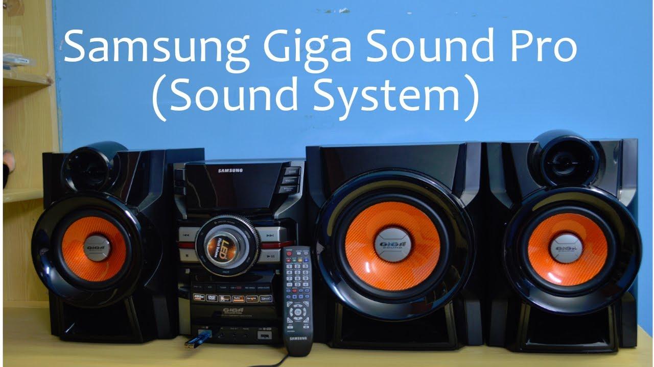 review samsung giga sound pro sound system youtube rh youtube com Samsung M340 Samsung M340
