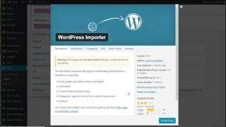 Asana WP theme: import demo tutorial