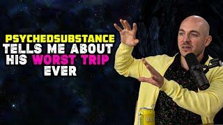 မျက်မမြင်များနှင့်တိုက်ခိုက်နေသောနတ်ဆိုးများ - PsychedSubstance သည်သူ၏အဆိုးဆုံးခရီးစဉ်အကြောင်းအမြဲပြောပြသည်