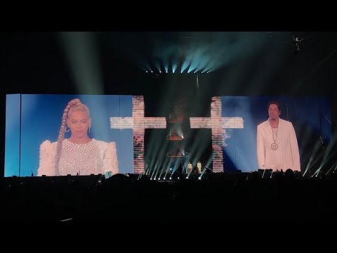 Beyoncé and Jay-Z - Holy Grail (Intro) On The Run 2 Philadelphia 7/30/2018