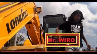 Unloading mini Excavator CDM 6065 by Mr Wiro