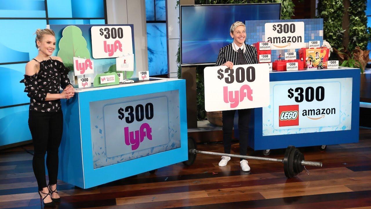 Ellen life changing giveaways for christmas