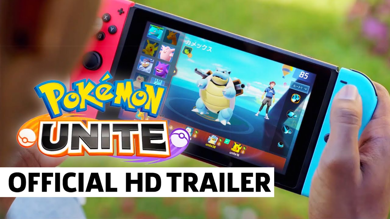 Pokemon Unite - Official Reveal Trailer And Gameplay - YouTube