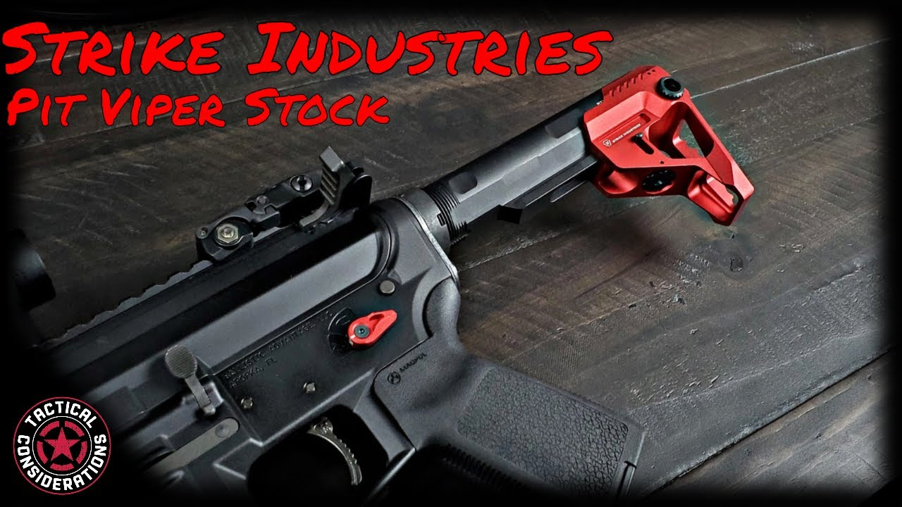 Strike Industries Pit Stock Its So Small