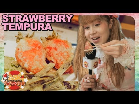 THE CRAZIEST STRAWBERRY DISHES OF JAPAN