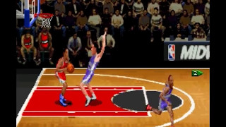 NBA Hang Time Gameplay - Best basketball game (SNES)