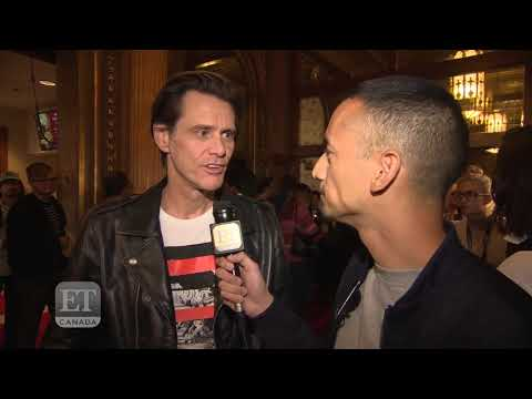 Jim Carrey explains bizarre NYFW Interview at fashion show
