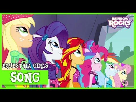 Shine Like Rainbows | MLP: Equestria Girls | Rainbow Rocks! [HD]