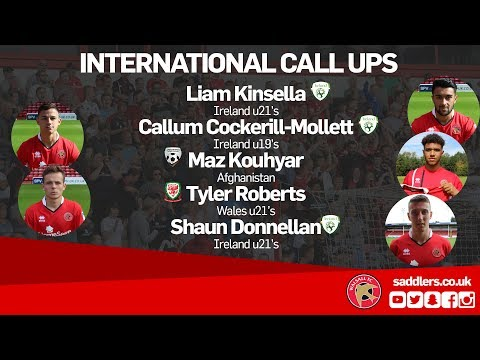 """INTERNATIONAL CALL-UPS 