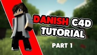 Danish c4d + photoshop tutorial - part 1-