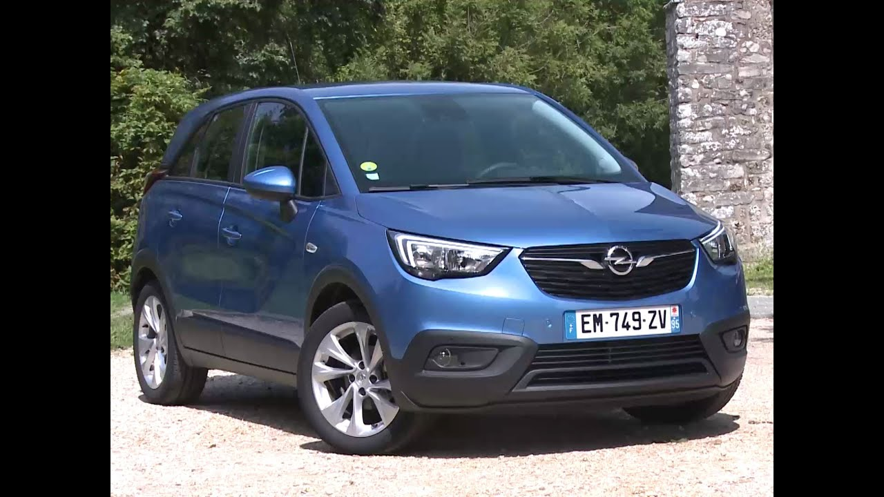 essai opel crossland x 1 6 d 99 edition 2017 youtube. Black Bedroom Furniture Sets. Home Design Ideas