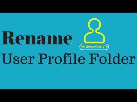 How To Rename User Profile Folder In Windows 10