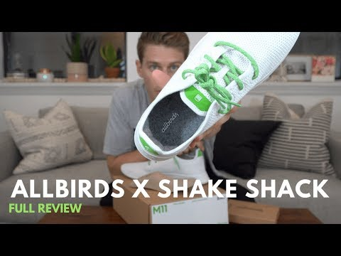 Unboxing & Review Of The Allbirds X Shake Shack Shoe Collab!
