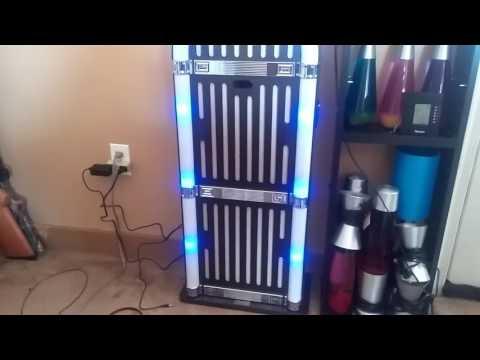 Art+Sound wireless jukebox with fm radio 2 AUX inputs - YouTube