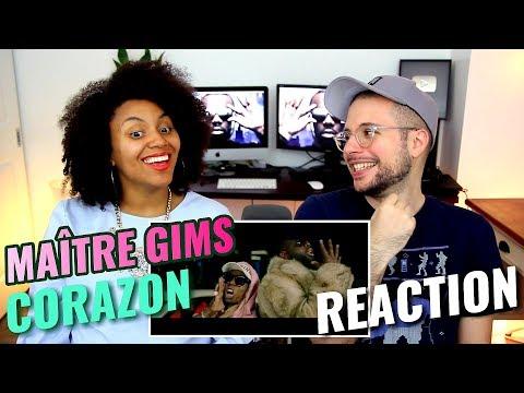 Maître GIMS - Corazon (Ft. Lil Wayne & French Montana)   REACTION
