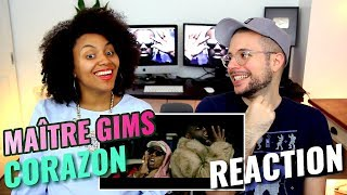Maître GIMS - Corazon (Ft. Lil Wayne & French Montana) | REACTION