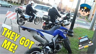THEY HAVE DIRT BIKE COPS?