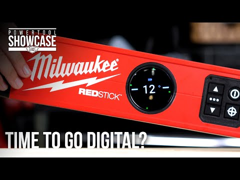 Milwaukee Tries To Convince Us That Levels Should Be Digital. You Can Win Our Digital REDSTICKS!