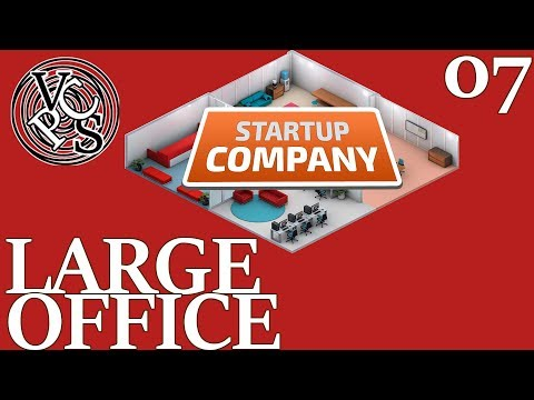 Large Office : Let's Play Startup Company EP07 - Beta 11 Software Developer Business Tycoon Gameplay