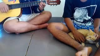 Cover lagu malaysia ( dermaga biru )