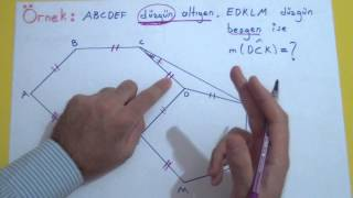 Çokgenler 1 Şenol Hoca Matematik