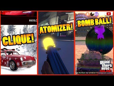 🎄ALLE Neuen Inhalte! Vapid Clique, Atomizer, Bomb Ball Modus!🎄[GTA 5 Online Arena War Update DLC] thumbnail