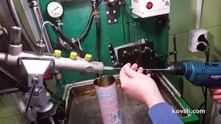 как мы проверяем наличие стружки в топливной аппаратуре Common Rail