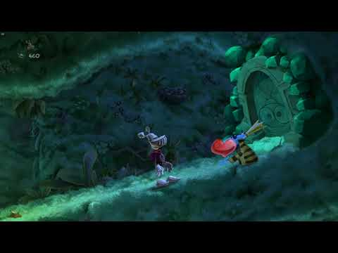 Rayman Legends Walkthrough: Part 25 - Swinging Caves (Gold)