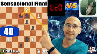 FINAL BRUTAL    CAMPEONATO ORDENADORES de Ajedrez    Stockfish Vs LC0 (Ronda 40)