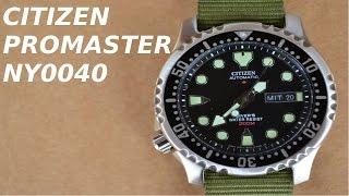 VLOG N 64 Citizen Promaster NY0040