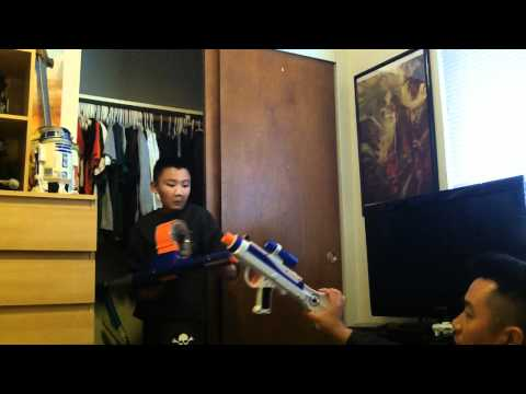 Kyle's NERF Collection & Other Toy Guns