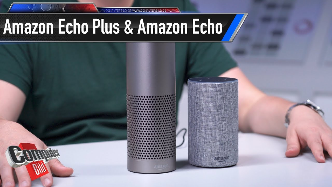 unboxing amazon echo 2 echo plus im ersten check youtube. Black Bedroom Furniture Sets. Home Design Ideas