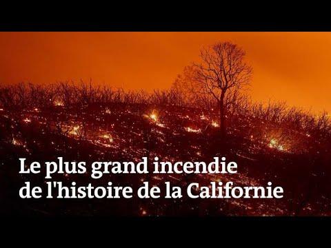 Californie : c'est le plus grand incendie de son histoire