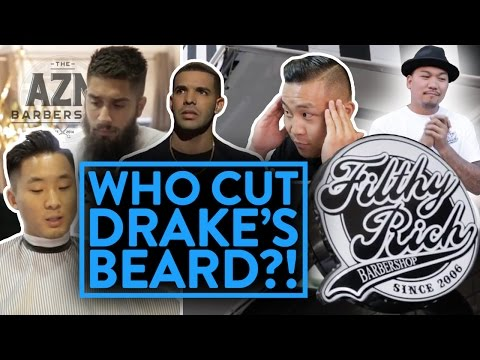 BEST ASIAN BARBERSHOP IN NEW YORK! (Drake's beard, female barbers)