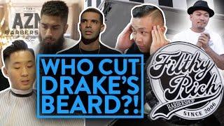 BEST ASIAN BARBERSHOP IN NEW YORK! (Drake's beard, female barbers)