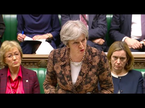 UK PM Theresa May - Skripal poisoning 'highly likely' a Russian act