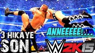 WWE 2K15 Türkçe | 3.Hikaye | Randy Orton cildirdi | SON | Ps4 | oynanış