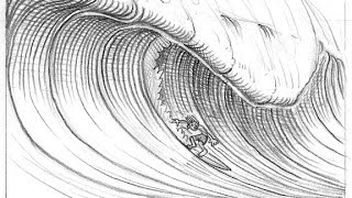 How to draw a Wave Easy