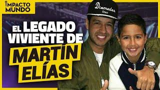 Martín Elías Junior promete reemplazar a su padre