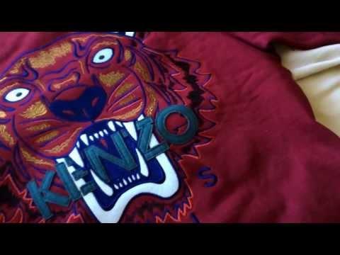 Kenzo Tiger's Head Sweatshirt Reveal/review
