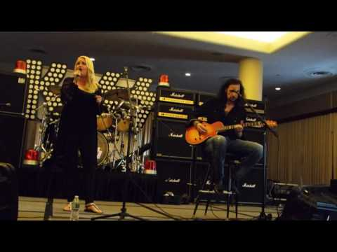 Lisa Lane & Bruce Kulick performing Who Wants To Be Lonely