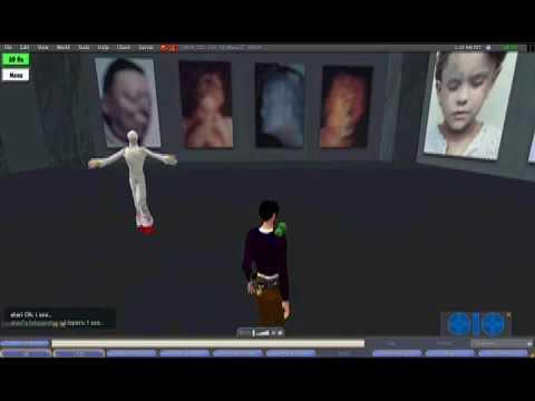 Gottfried Helnwein's Exhibition in VMOA Second Life 2/2